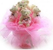 Bouquet of Teddies